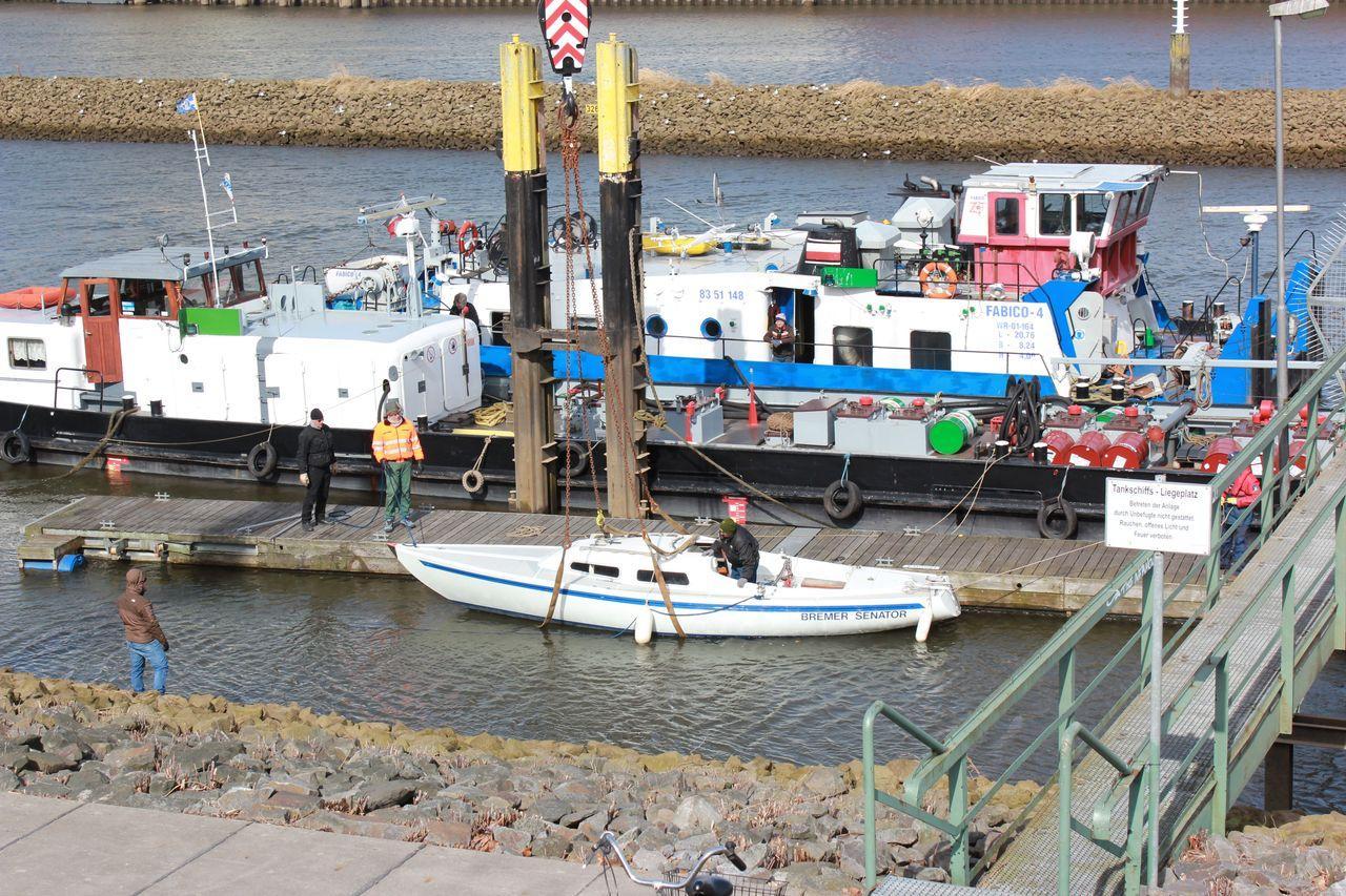 Das H-Boot im Wasser